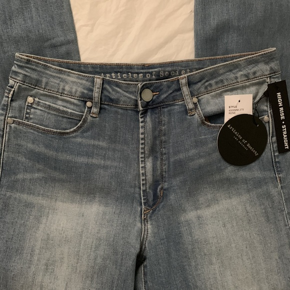 Articles of Society Rene Santiago Distressed Jeans